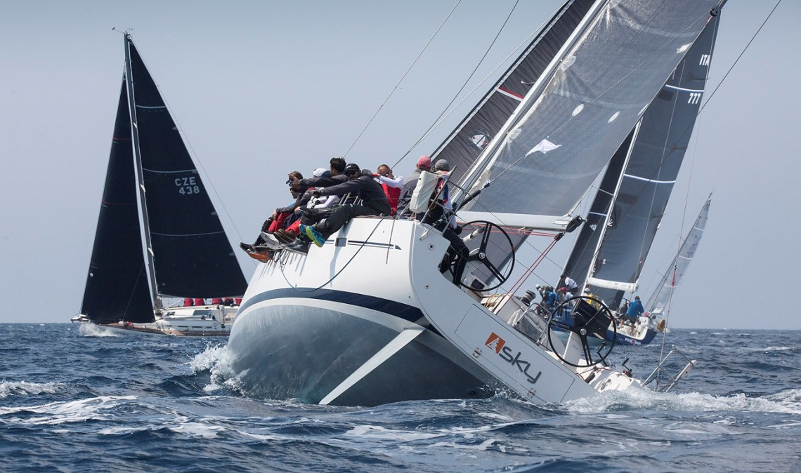 Two inshore races today produce new series leaders at D ...